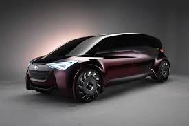 car toyota toyota applies long range fuel cell tech to its latest minivan concept