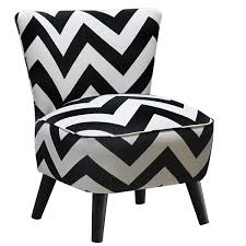 Black And White Striped Accent Chair Blossom Striped Accent Chair Black And White New Home Furnishings