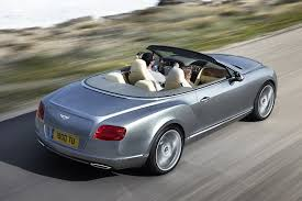 bentley continental convertible 2012 bentley continental gtc convertible photos and info