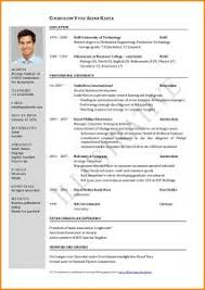 Printable Resume Templates For Free Free Printable Resume Templates Downloads Resume Template And