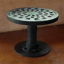 Cover Coffee Table Manhole Cover Coffee Table Cast Iron Forest