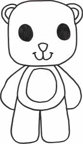 teddy bears coloring page free download