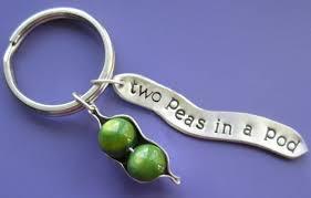 two peas in a pod charm two peas in a pod charm keychain