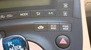 lexus sport s mode how to use the eco mode and power mode on your prius youtube