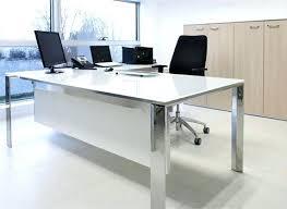 The Range Computer Desk Frosted Glass Office Desk Atken Me