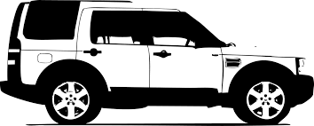 land rover discovery drawing land rover club side green clip art library
