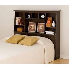 bookcase headboard ideas prepac fremont espresso double queen headboard esh 6656 the home