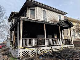home house morning fire damages home pet cat dies house now unlivable
