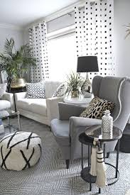 White Bedroom Ottoman Black And White Living Room Ideas Beige Curtain Square Grey