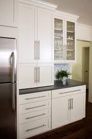 tile countertops white modern kitchen cabinets lighting flooring