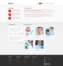 website template 46145 epica industrial company custom website