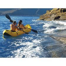 clear blue hawaii hanauma 2 person kayak 102658 canoes