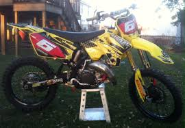 rm 125 rescue u0026 restore finished with pics tech help race shop
