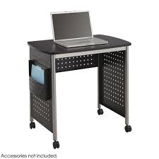 Flat Computer Desk Safco Scoot Desk Black 1907bl Safco Products Safcoproducts Ca