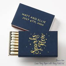 personalized wedding matches sparks flew matchboxes wedding favors wedding matches