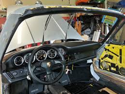 porsche 911 dashboard 1975 porsche 911 targa rebuild dash as eye candy
