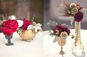romantic wedding flowers vintage carnival themed wedding rich