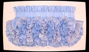 Ruffled Kitchen Curtains Delores Ruffled Country Style Curtains