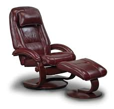 furniture dark brown leather chair with brown wooden arms and