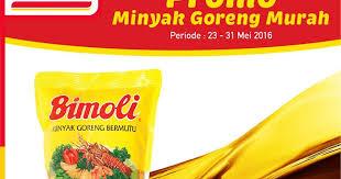 Minyak Goreng Di Alfamart Hari Ini promo harga minyak goreng di alfamart terbaru 23 31 mei 2016