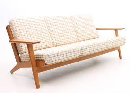 Hans Wegner Sofa by Ge 290 3 Sofa By Hans Wegner For Getama 1950s 60720