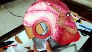 iron man mark 4 helmet do it yourself 1 5 cardboard cut