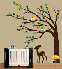 tree wall decal for interior decoration u2014 wedgelog design