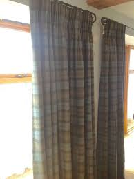 Wool Curtains 2 Pairs Of Bespoke Handmade Interlined Curtains Abraham Moon Wool