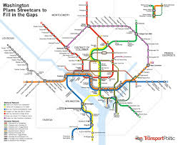 Metro Rail Dc Map by Washington Dc Streetcar News Columbusunderground Com