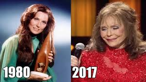 loretta lynn transformation from 1980 to 2017 then and now youtube