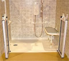 Handicapped Bathroom Design by Best Fresh Handicap Showers Home Depot 13803