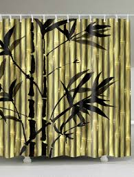 Painted Bamboo Curtains Curtain 92 Singular Painted Bamboo Curtains Image Concept
