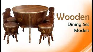 Wooden Dining Set Wooden Dining Table Sets Traditional Wood Carving Models For All