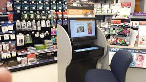 how about this photo kiosk unit in walgreens for privacy if you