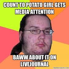 Count To Potato Meme - to potato jealousy