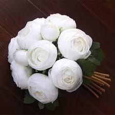 home decor drop shipping 1pcs heads simulation artificial flower rose bouquet bride holding
