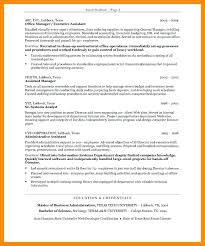 resume secretary assistant job description resume executive