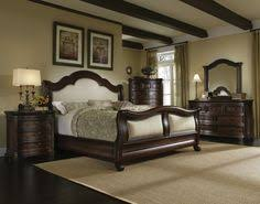 Rustic King Bedroom Sets - mid century king size bedroom sets with 4 big pillars curved dark