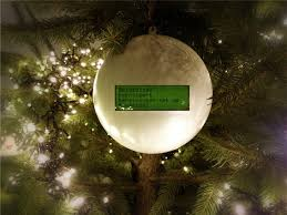 the tweetball a ornament that shows your friends