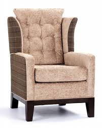 High Back Wing Armchairs High Back Wing Chairs For Living Room With Regard To Your Own Home