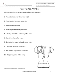 17 best images of past tense verb worksheet grade 2 past tense