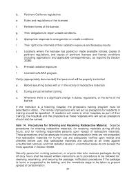 guide for the preparation of an application for a radioactive