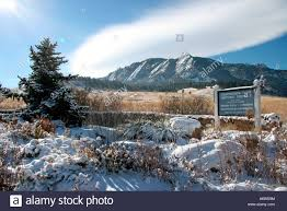 chautauqua park at the base of the flatirons in boulder colorado