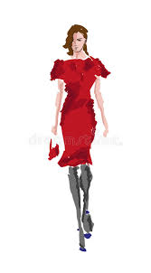 sketch fashion royalty free stock photos image 30596698