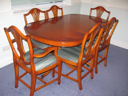 Yew Dining Table And Chairs Extendable Yew Dining Table And Chairs In Tunbridge Kent
