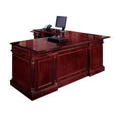 Wood L Shaped Desk Keswick Cherry Executive L Shape Desk Left Handed Intended