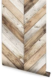 chevron wood herringbone wallpaper peel and stick rustic