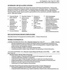 entry level finance resume sample eliolera com