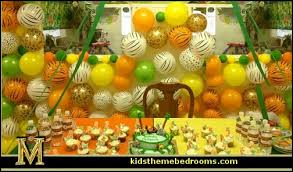 jungle theme decorations decorating theme bedrooms maries manor party theme decorations