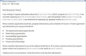 Request Letter Asking For Certification college study program information requesting letter formal word